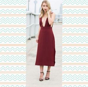 🎄 Deep V dress - sexy and elegant 🌹👄